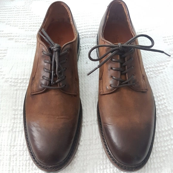 Frye Other - New FRYE Jones Oxford Brown Leather Men's Shoes